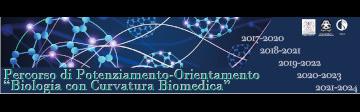 Logo curvatura biomedica e link a pagina
